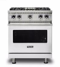 Viking Professional 5 Series 30  4 Burners Freestanding Gas Range VGR5304BSS S S