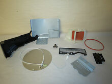 MISC PARTS  FOR  SAMSUNG ME179KFETSR MICROWAVE AIR GUIDE  REAR BRACKET  ETC