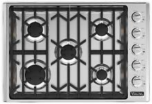 Viking Professional 5 30  18 000 BTU Power Burner Gas Cooktop VGSU5305BSSNG IMGS