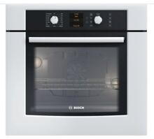 Bosch HBL5420UC 30  White Single Electric Wall Oven Large Capacity 500 Series