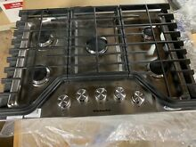 Kitchenaid Kcgs350ESS 30  Stainless Steel 5 Burner Gas Cooktop  01