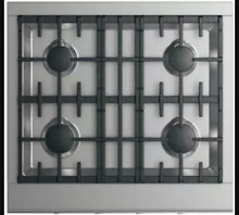 Fisher and Paykel DCS CPV2304N 30 In Stainless Steel Gas Cooktop