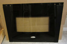 WHIRLPOOL GOLD LINE WALL OVEN  BLACK DOOR GLASS ASSEMBLY  PART 8303300