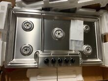 Bosch NGM3654UC Stainless Steel 37 in  Gas Cooktop