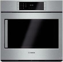 Bosch Benchmark Series 30 Inches 4 6 cu ft  Single Electric Wall Oven HBLP451RUC