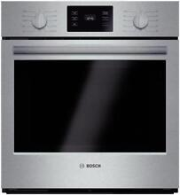 Bosch 500 Series 27  4 1 11 modes Flush Single Electric Wall Oven HBN5451UC S S