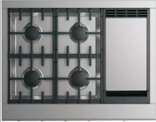 Fisher and Paykel DCS CPV2364GDL 36 Inch Gas Cooktop