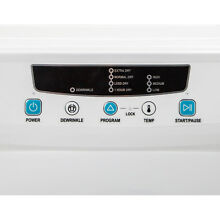 Magic Chef Compact Electric Dryer 3 5 Cu  Ft  in White Modern