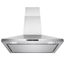 AKDY 36  Stainless Steel Wall Mount Cooking Fan Vent Touch Control Display Range