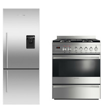 Fisher   Paykel 2 PC Kitchen Package RF135BDRUX4 Fridge   OR30SDPWGX1 Range