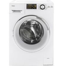 Haier HLC1700AXW 24  2 0 cu  ft  Front Load Washer Dryer Combo