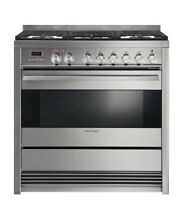 Fisher   Paykel OR36SDPWGX1 36  Dual Fuel Range with Convection Stainless Steel