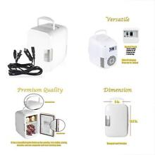 VaygWay Exterior Accessories Cooling And Warming Small Fridge   2 in 1 White USB