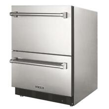 Luxor 24 Inch 4 5 Cu  Ft  Outdoor Rated Refrigerator Drawers