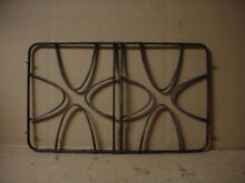 GE Cooktop Burner Grate w  Stains   Wear Part   WB31T10050