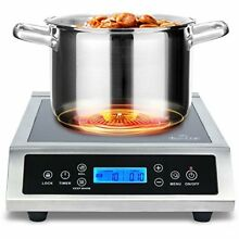 Portable Induction Cooktop Commercial Range Countertop Electric Single Burner