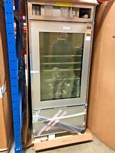 SubZero BI 36UG O 36  Built In Over and Under Glass Door Refrigerator Freezer