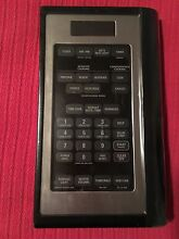 GE Stainless Steel Control Panel WB07X10800 Microwave JVM1650SH  01  02  03