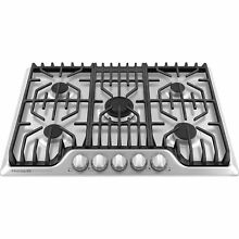 Frigidaire Pro Stainless Steel 30  5 Burner Gas Cooktop FPGC3077RS