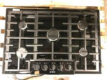 Bosch NGM8065UC 800 Series 31 Inch Gas Cooktop with 5 Burners Black  0047