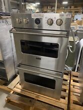 Viking VEDO5302SS 30  Double Electric Wall Oven Stainless Steel