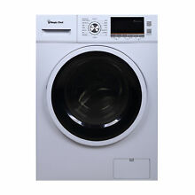 Magic Chef MCSCWD20W3 2 0 Cu Ft 24  Wide Combo Washer Dryer Ventless 115V