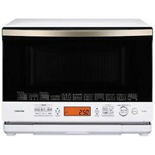 Toshiba ER ND8 W  Superheated steam Oven Microwave range 26L Japan Fast Shipping
