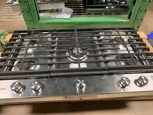 Kitchenaid KCGS556ESS 36  Stainless Steel 5 Burner Gas Cooktop  5850