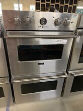 Viking VEDO5302SS 30  Double Electric Wall Oven Stainless Steel  8853