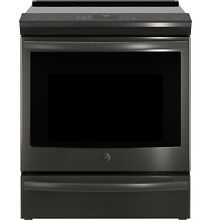 GE Profile PHS930BLTS 30  Slide In Front Control Induction and Convection Range