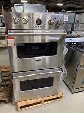 Viking VEDO5302SS 30  Double Electric Wall Oven Stainless Steel  2151