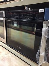 Amana AWO6313SFB 30 Inch Single Electric Wall Oven Black