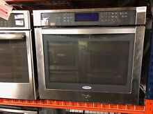 Whirlpool WOS97ES0ES 30  Stainless Single Electric Wall Oven  7356