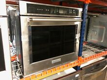 KitchenAid  KOST100ESS  Stainless Steel Wall Oven  6632