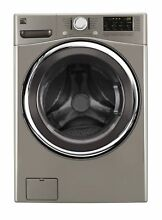 NEW FREE SHIP Kenmore 41393 4 5 cu ft Front Load Washer w Accela Wash Metallic