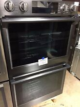 Samsung NV51K7770DG 30  Black Stainless Electric Wall Double Oven  056E
