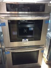 LG LWD3063ST 30  Stainless Steel Double Wall Oven  X056