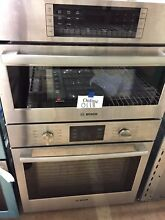Bosch HBL57M52UC 500 Series 30  Stainless Steel Microwave Combination Oven  0108