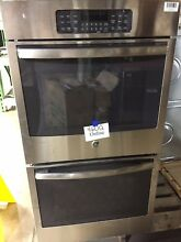 GE JK3500SFSS 27  Stainless Steel Electric Double Wall Oven  460Q