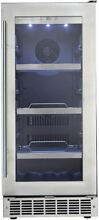 Danby Silhouette Series 15  Built In Beverage Center DBC031D4BSSPR