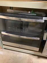 GE Profile PT9200SLSS 30  5 Cu Ft  Total Capacity Double Wall Oven  114Q