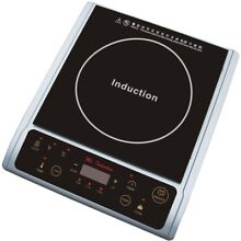 SPT Portable Induction Hot Plate 4 5 lb  LED Light Panel Micro Crystal Ceramic