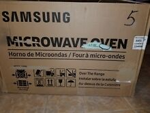 Samsung ME21H706MQS  OTR  Over The Range STAINLESS STEEL Microwave Oven   READ