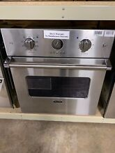 Viking VESO5272SS Professional 27 Inch Single Electric Wall Oven Stainless  9318