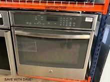 GE PT9050SFSS Wall Oven 30 in