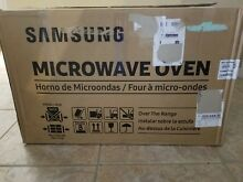 SAMSUNG ME21M706BAG  OTR  Over The Range BLACK Stainless Microwave Oven   READ