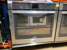 Whirlpool WOS51EC0AS 30  Stainless Steel Single Electric Wall Oven Model  5364
