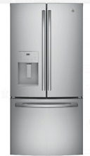 GE GFE24JSKSS 33 In Stainless Steel French Door Refrigerator
