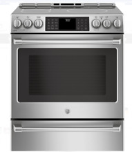 GE Cafe CHS985SELSS 30 In Stainless Steel Slide In Induction Electric Range