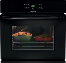 Frigidaire FFEW2725PB 27  Self Cleaning Single Electric Wall Oven Black